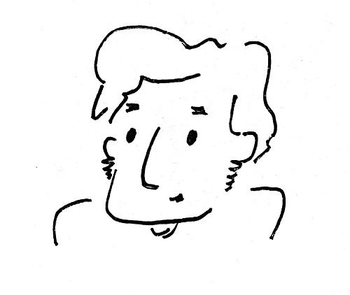 鼻が高い人